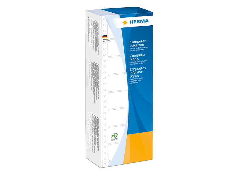 HERMA 8207 Computeretiketten  68.58x35.7 mm A4 4000 St.