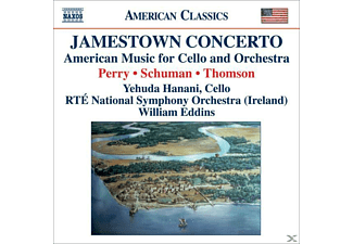 VARIOUS, Hanani/Eddins/Rte National SO - Jamestown Concerto - (CD)