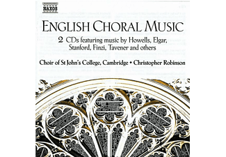 CHOIR OF ST.JOHN S COLLEGE, Christopher/Choir Of St.John's College Robinson - Englische Chormusik - (CD)