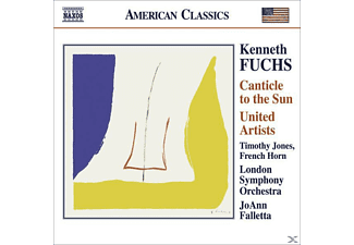 Lso, Jones/Falletta/LSO - Canticle To The Sun/United Artists - (CD)