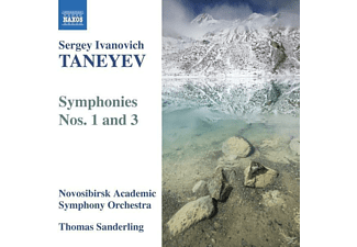 VARIOUS, Sanderling/Novosibirsk Academic SO - Sinfonien 1+3 - (CD)