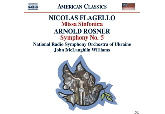 Ukrso, McLaughlin Williams/UKRSO - Missa Sinfonica/Sinfonie 5 - (CD)