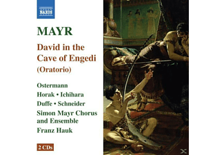 Barkovski, Franz/simon Mayr Chor+ensemble Hauk - David In Spelunca Engaddi - (CD)