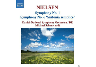 Danish National Symphony Orchestra - Sinfonien 1+6 - (CD)