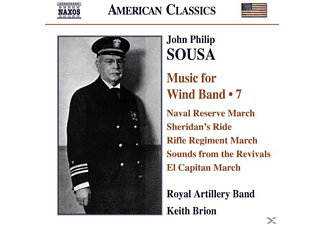 Royal Artillery Band, Keith Royal Artillery Band & Brion - Music For Wind Band Vol.7 - (CD)