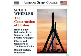 Hite, Teeters/Hite/Blandy/Deloach/+ - The Construction Of Boston - (CD)