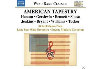 Shuster, Corporon, Lone Star Wind Orchestra, Shuster/Corporon/Lone Star Wind Orchestra - American Tapestry - (CD)