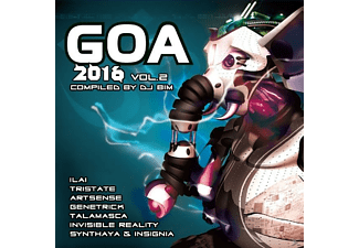 VARIOUS - Goa 2016 Vol.2 - (CD)