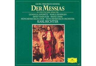 Münchener Bach-chor, Janowitz/Höffgen/Richter/MBO/+ - Der Messias (Ga, Deutsch) - (CD)