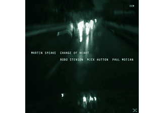 Martin Speake - Change Of Heart - (CD)