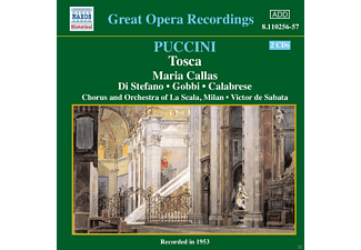 Maria Callas, Guiseppe Di Sefano, Chorus And Orchestra Of La Scala - Puccini: Tosca - (CD)