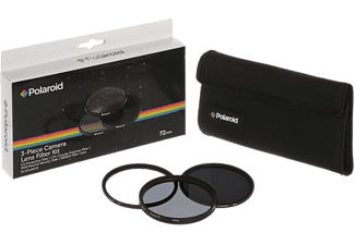 POLAROID PL3FILND72 3 PC Filter Kit 72mm - (00137773)