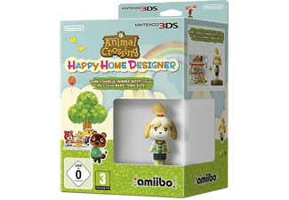 Animal Crossing: Happy Home Designer inkl. amiibo Isabelle (Summer Outfit)  3DS