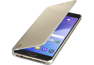 SAMSUNG Clear View Cover Galaxy A5 -Guld
