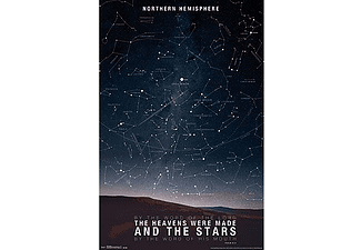 The Stars Poster Northern Hemisphere