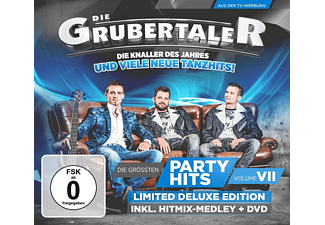 Die Grubertaler - Die Größten Partyhits Vol.7-Deluxe Edition - (CD + DVD Video)