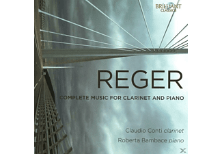 Claudio Conti, Roberta Bambace - Complete Music For Clarinet And Piano [CD]