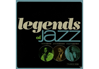 VARIOUS - Legends Of Jazz (Metalbox Edition) - (CD)