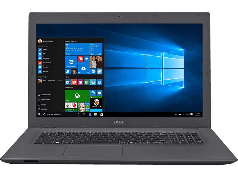 ACER  Aspire E 17 E5-773G-572Z, Notebook, Core™ i5 Prozessor, 8 GB RAM, 1 TB HDD, 128 GB SSD, GeForce 940M, Schwarz/Grau | 04713392184307