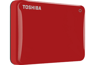 TOSHIBA HDTC820ER3CA Canvio Connect II 2.5'' 2TB Kırmızı USB 3.0 Outlet