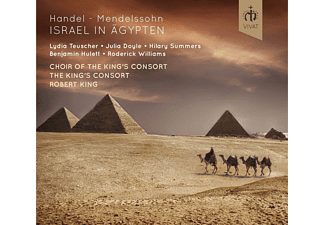The King's Consort - Israel in Ägypten - (CD)
