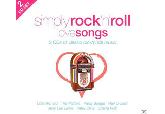 VARIOUS - Simply Rock'n Roll Love Songs (2cd) [CD]