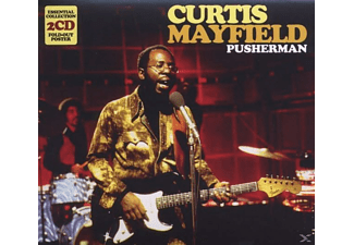 Curtis Mayfield - Pusherman-Essential Collection - (CD)