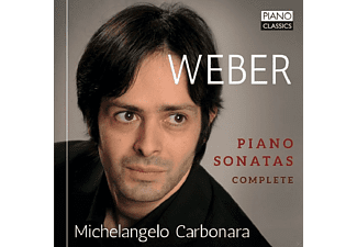 Michelangelo Carbonara - COMPLETE PIANO SONATAS - (CD)