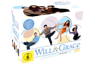 Will & Grace – Box 1-6 (24 DVDs) - (DVD)
