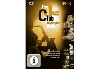 VARIOUS - Jazz Club Highlights 1990 - (DVD)