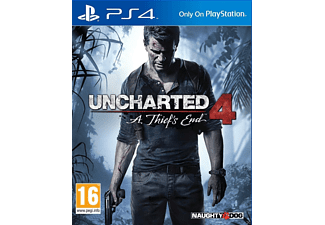 Uncharted 4  Το Τέλος ενός Κλέφτη Standard Edition PS4