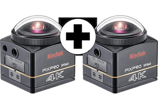 kodak sp360 4k bk5 dual pro pack action cam kaufen saturn. Black Bedroom Furniture Sets. Home Design Ideas