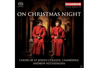 John Challenger, Cambridge Choir Of St John's College - On Christmas Night - (SACD Hybrid)