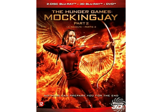 Hunger Games - Mockingjay Part 2 (3D) | Blu-ray