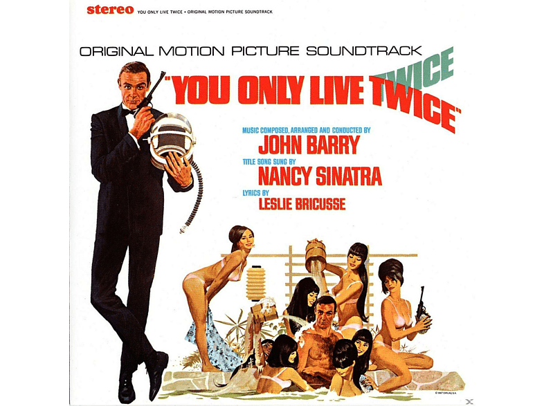 VARIOUS - You Only Live Twice (Remastered) [CD]