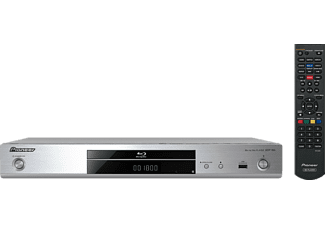 Reproductor Blu-ray - Pioneer BDP-180S, 3D, 4K, WiFi Direct