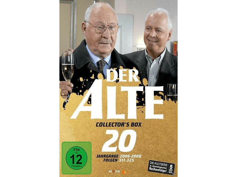 Der Alte - Collector's Box Vol. 20 (Folgen 311-325) [DVD]