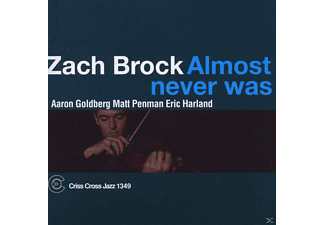 Zach Brock - Almost Never Was - (CD)