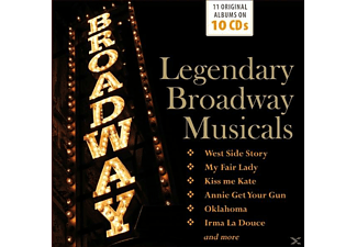 VARIOUS - Legendary Broadway Musicals [CD]