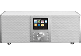 LENCO Concerto DIR-2000 2.1 Bluetooth internet radio Wit (DIR-2000 WH)