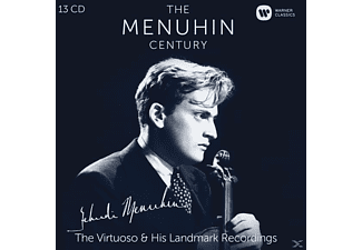 Yehudi Menuhin - The Menuhin Century - The Virtuoso & His Landmark Recordings (CD)