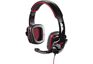 HAMA Fire Fighter, PC-Headset, 2 m, Rot/Schwarz