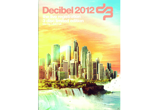 VARIOUS - Decibel 2012 (Dvd/Brd/Cd) - (Blu-ray + CD + DVD)