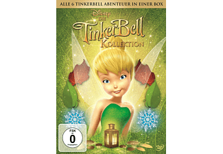 Tinkerbell Pack 1-6 [DVD]