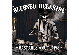 Blessed Hellride - Bastards & Outlaws [CD]