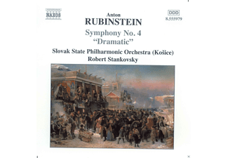 "Slovak State Philharmonic Orchestra - Rubinstein: Symphony No. 4, ""Dramatic"" - (CD)"