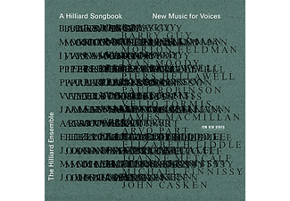 The Hilliard Ensemble - A Hilliard Songbook - New Music for Voices (CD)