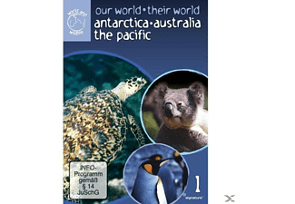 Antarctica, Australia, The Pacific - (DVD)