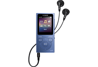 SONY NWE394 Mp3-Player (8 GB, Blau)