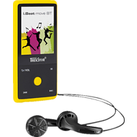 TREKSTOR i.Beat move BT Mp3-Player (8 GB, Gelb)